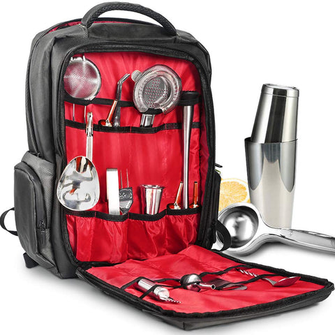 Travel Bartender Bag With Tools For Sale - Big Aroha