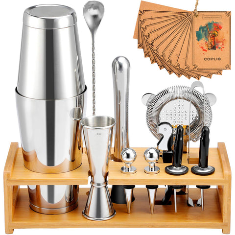 Cocktail Shaker Kit 13 Pieces Online Sale - Big Aroha