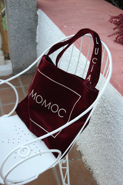 Momoc vegan sac à main (rouge)