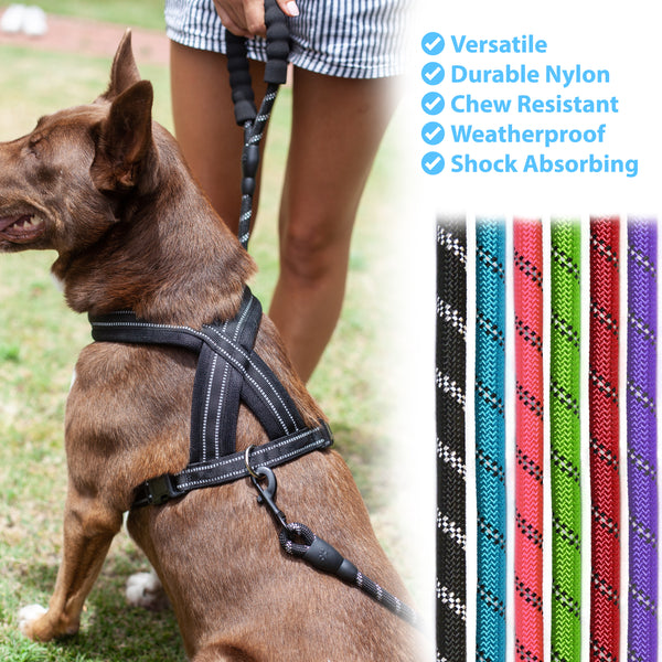 Zenify Pets Rope Dog Lead With Padded Handle