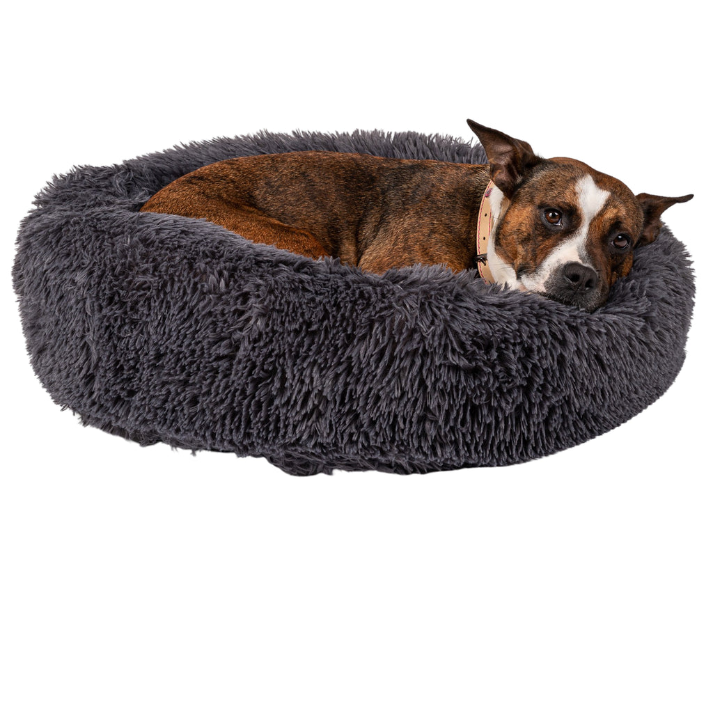 Zenify Pets Calming Dog Bed for Small Medium Dogs Puppies and Cats
