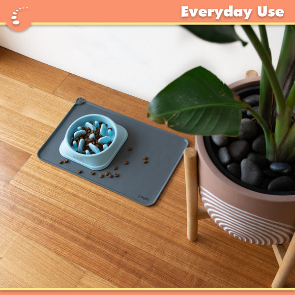 Zenify Pets Dog Cat Bowl Feeding Mat for Food Water