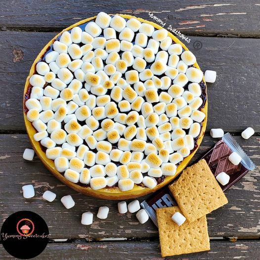S'mores Whole Cheesecake