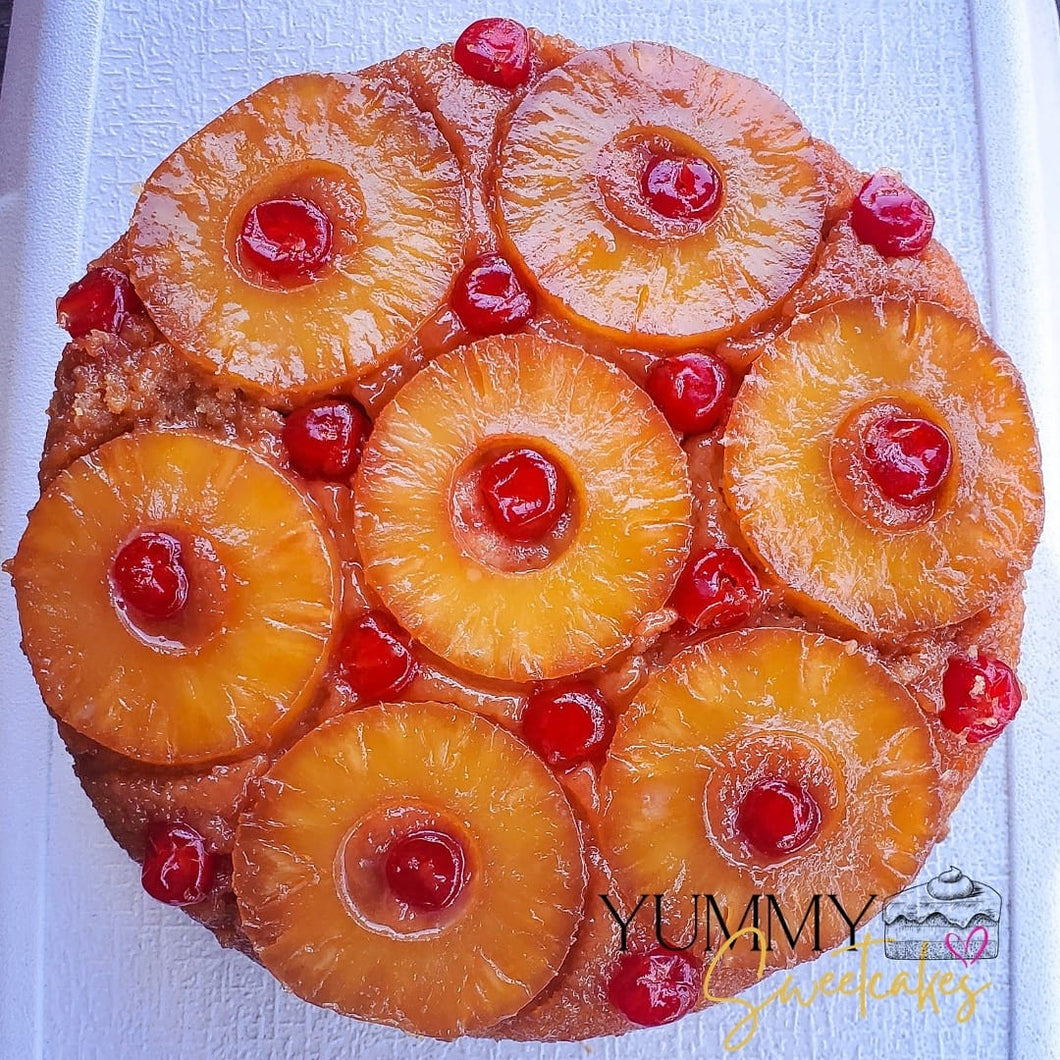 Pineapple Upside Down Cake Whole Cheesecake