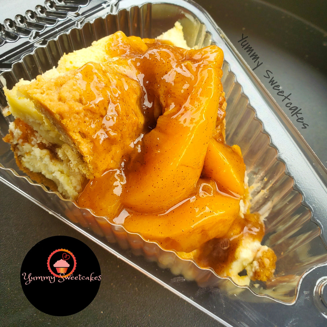 Peach Cobbler Slice (8 oz)