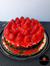 Load image into Gallery viewer, Strawberry Whole Cheesecake