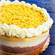 Load image into Gallery viewer, Lemon Bar Whole Cheesecake