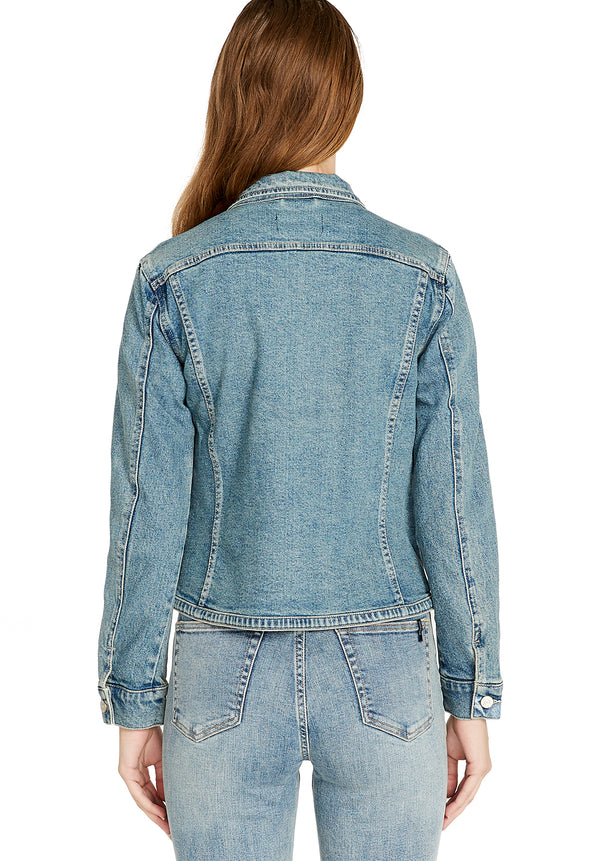 Themis Slim Denim Jacket - BL15654