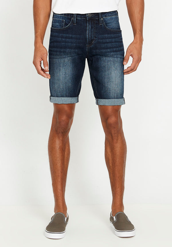 Indigo Parker Denim Shorts - BM22537