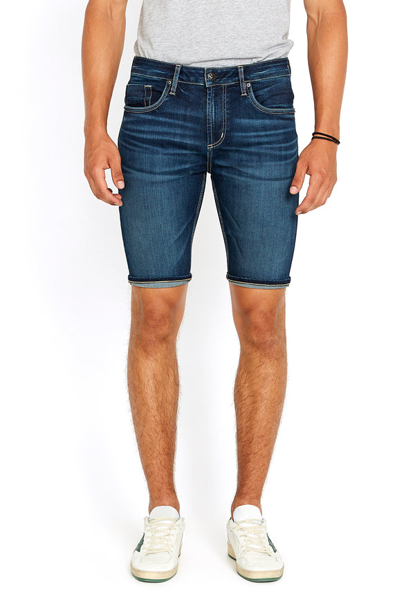 Indigo Parker Denim Shorts - BM22662