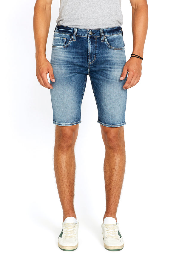 Indigo Parker Denim Shorts - BM22663