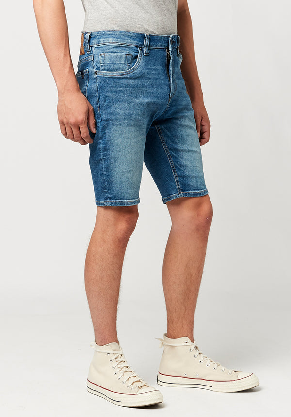 Indigo Parker Denim Shorts - BM22664