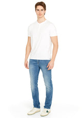 Newson Buttoned T-Shirt - BPM13905