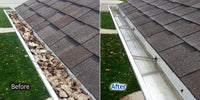 Gutter clean outs