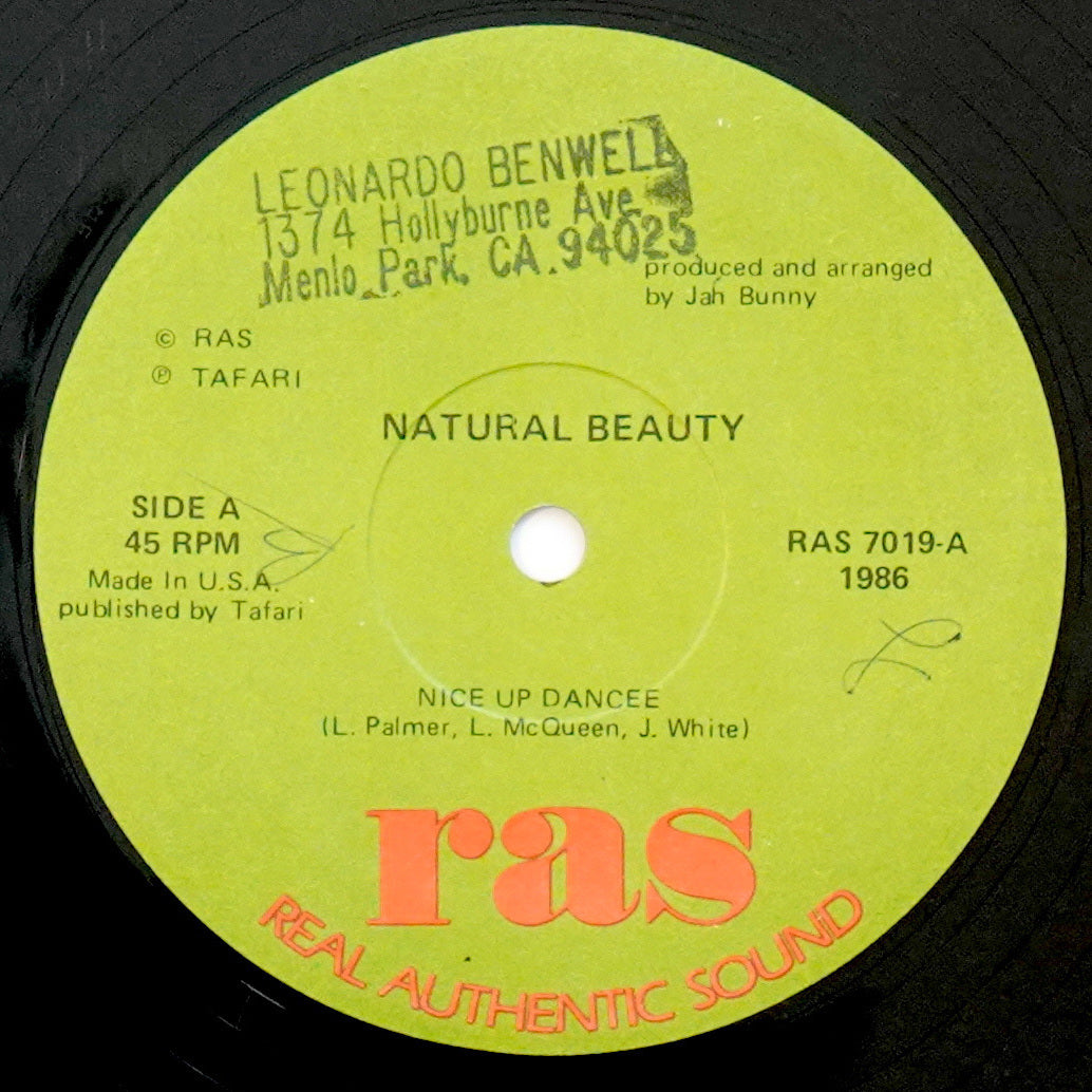 Natural Beauty ‎– Nice Up Dancee / You Wanna Be Loved (12