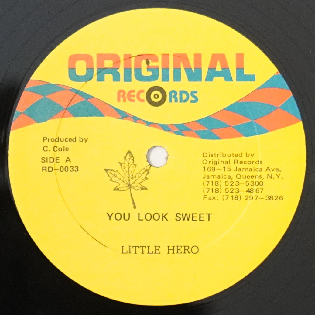 Little Hero ‎– You Look Sweet / Mikey C - Suddenly (12