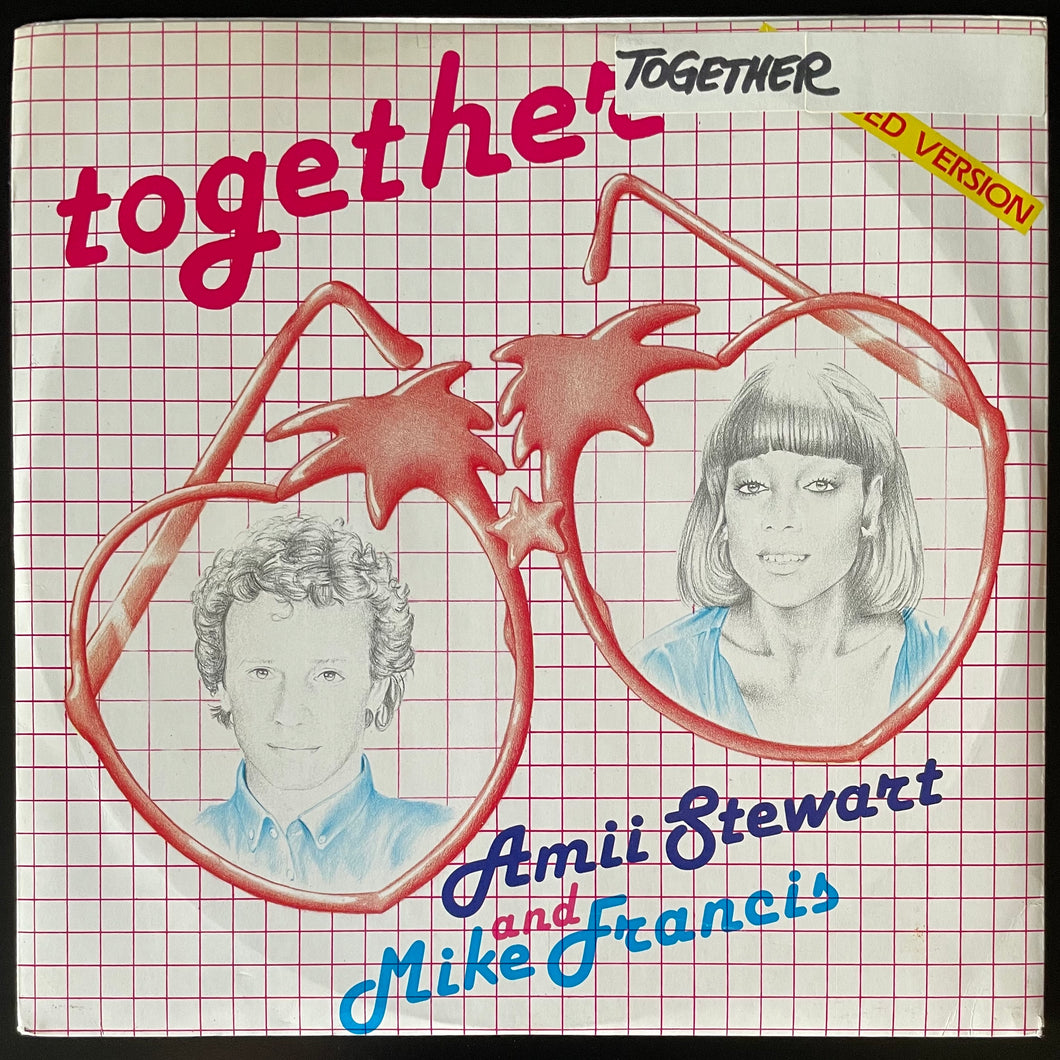 Amii Stewart And Mike Francis ‎– Together (Extended Version) (12