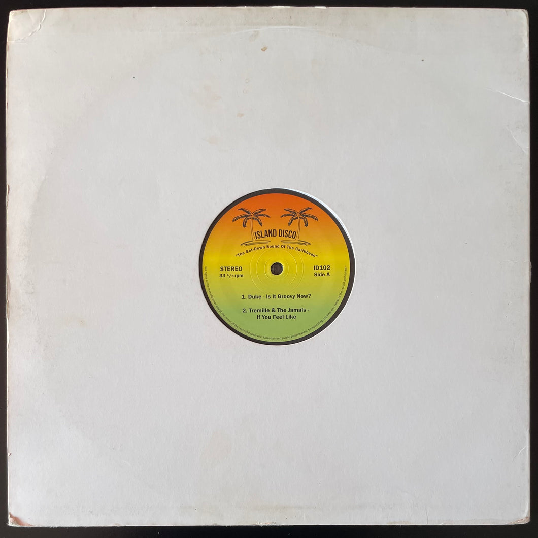 "Various - The Get-Down Sound Of The Caribbean (12"")"