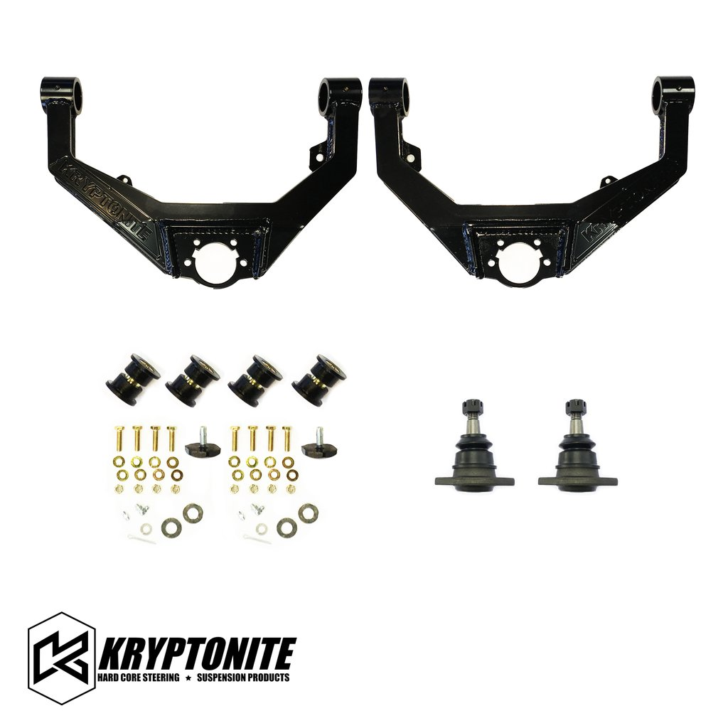 KRYPTONITE UPPER CONTROL ARM KIT 2001-2010 GM 2500-3500 TRUCKS