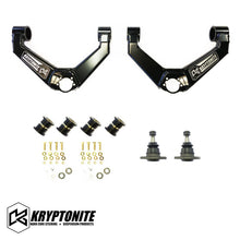 Load image into Gallery viewer, KRYPTONITE UPPER CONTROL ARM KIT 2011-2019 GM 2500-3500HD TRUCKS