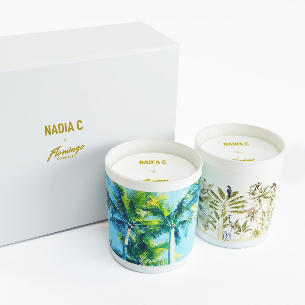 Jungle Fever and Cartagena Nights candle combo with box