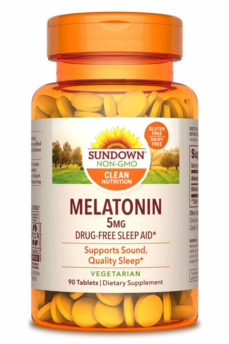 Sundown Melatonin 5 MG 90 Tabletas