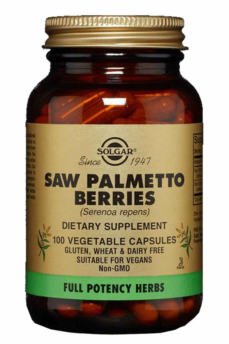 Solgar Saw Palmetto Berries 100 Capsulas