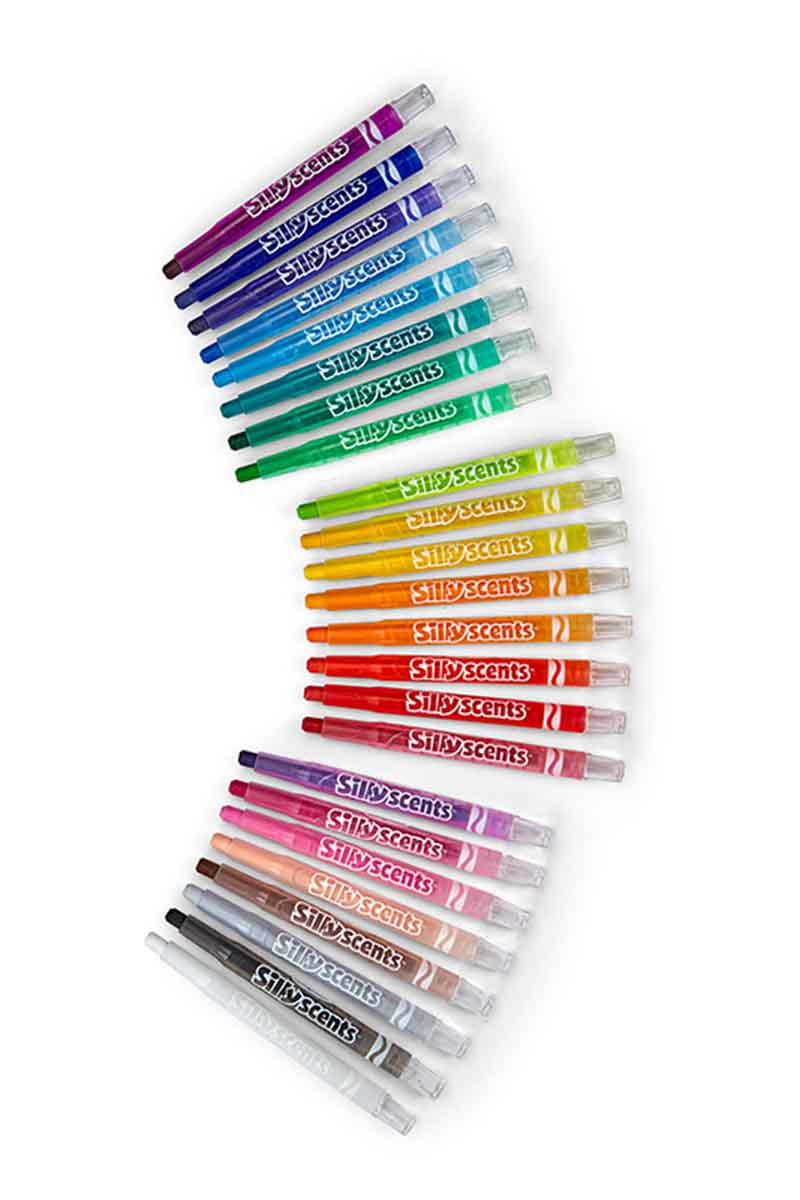 CRAYOLA 24 Crayones Silly Scents Twistables