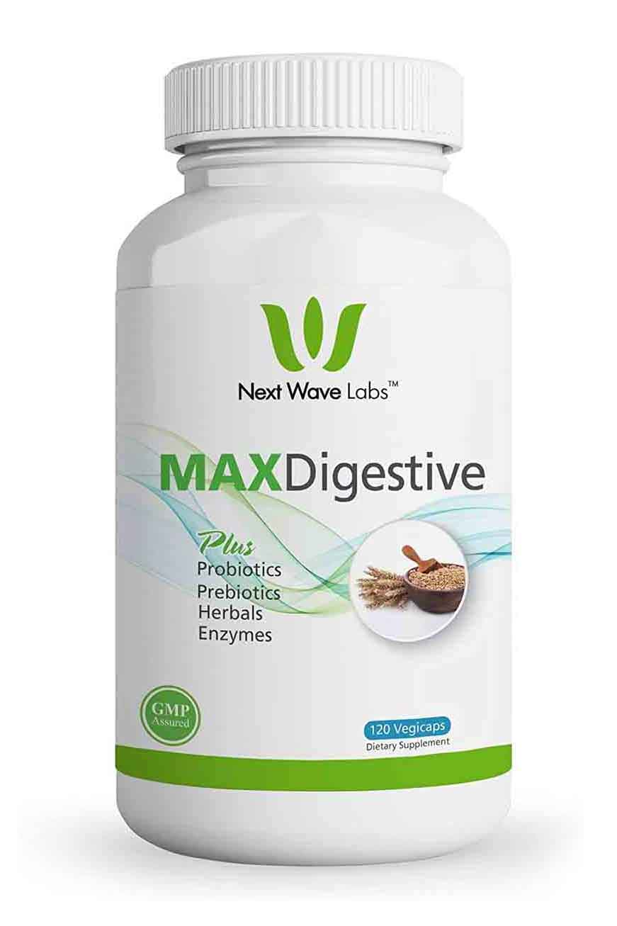 Next Wave Labs Max Digestive Plus 120 Capsulas