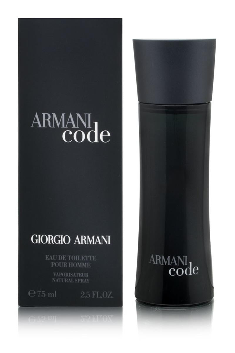 Giorgio Armani Code Eau De Toilette For Men 75 ml