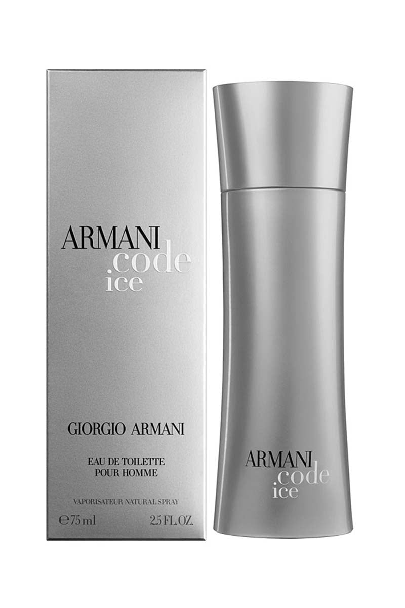 Giorgio Armani Code Ice Eau De Toilette For Men 75 ml