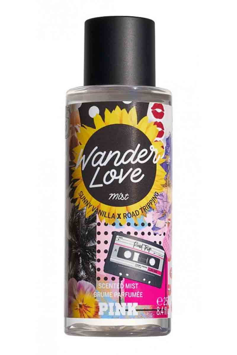 Victoria's Secret Pink Wander Love Fragance Mist For Woman 250 ml