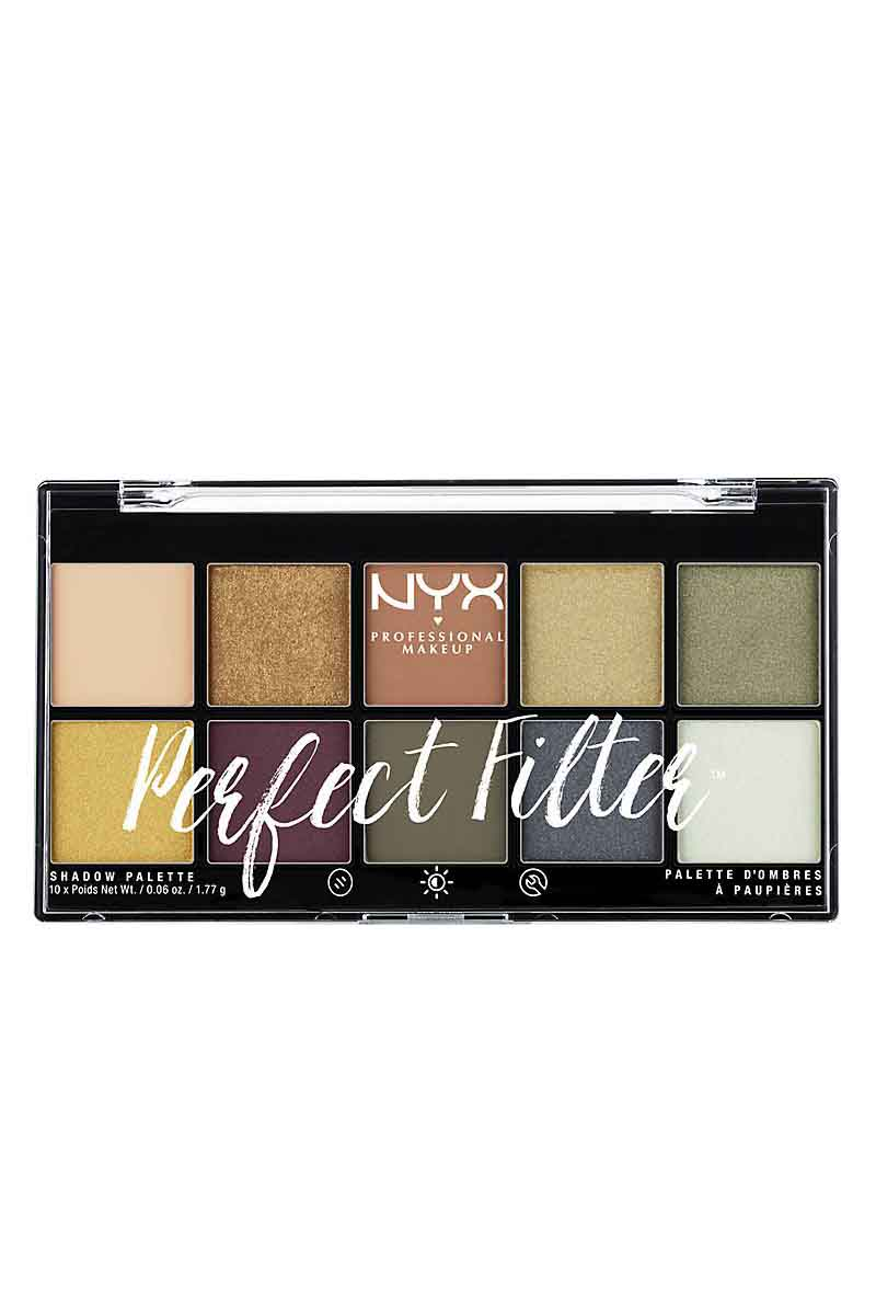NYX PERFECT FILTER PALLETE SHADOW OLIVE YOU