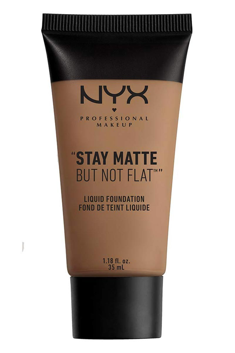 NYX STAY MATTE NOT FLAT LIQUID FOUNDATION 1.18 oz