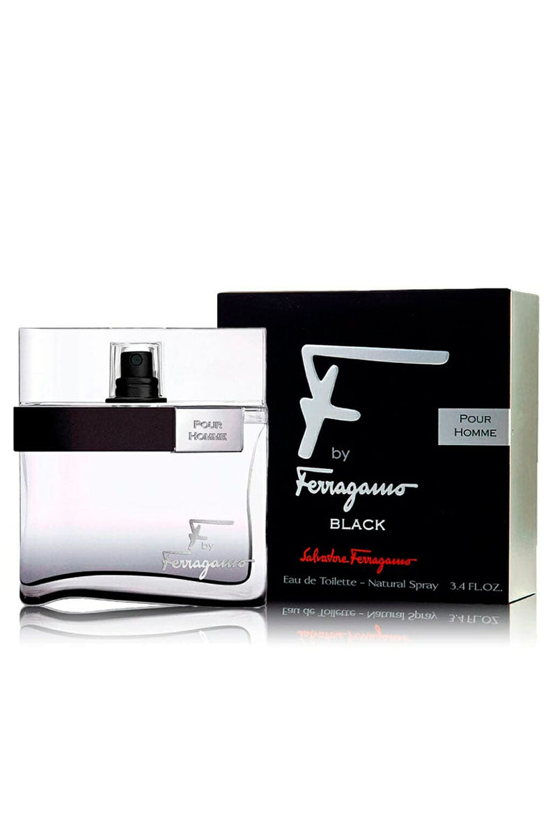 Salvatore Ferragamo By Fferragamo Black Eau De Toilette For Men 100 ml