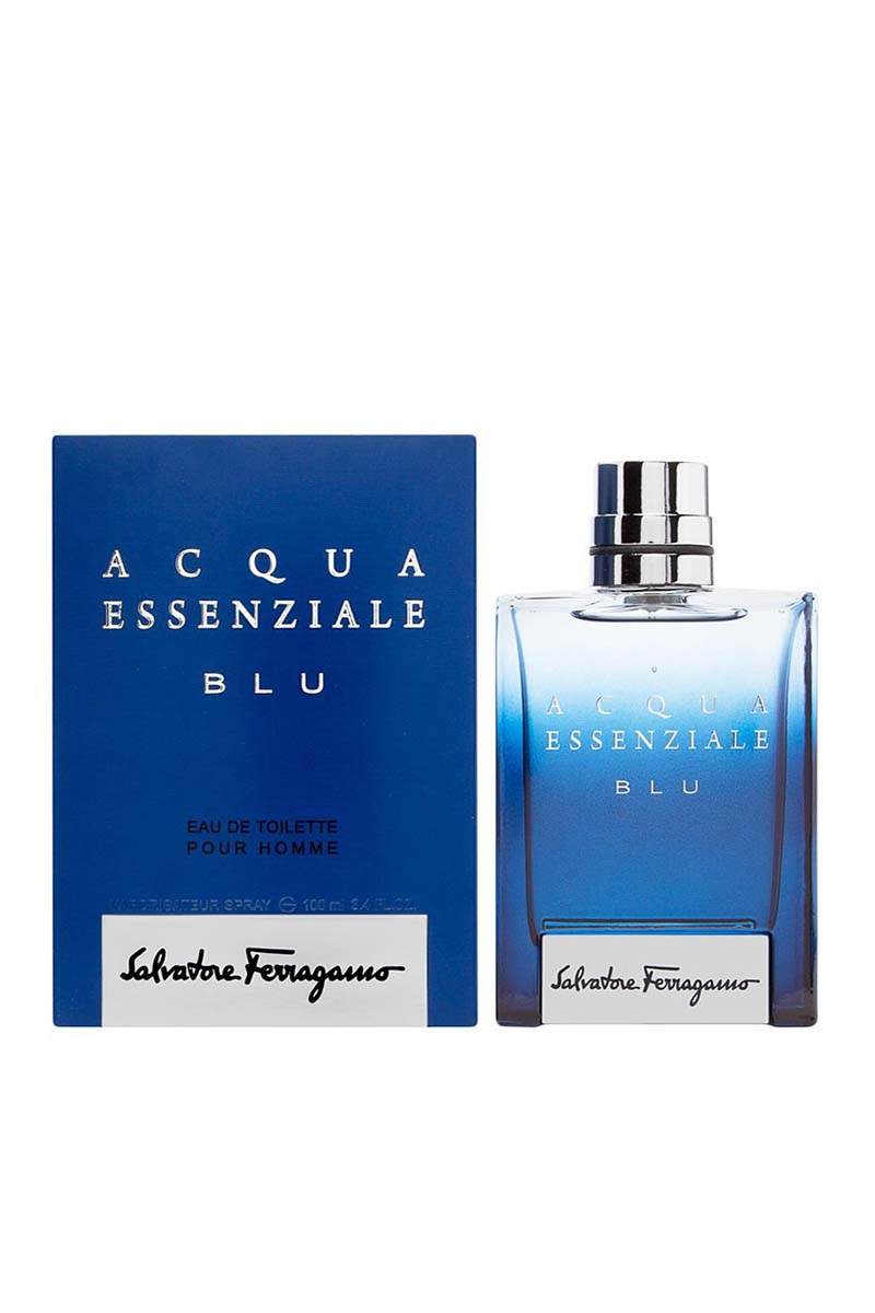 Salvatorre Ferragamo Acqua Essenziale Blue Eau De Toilette For Men 100 ml
