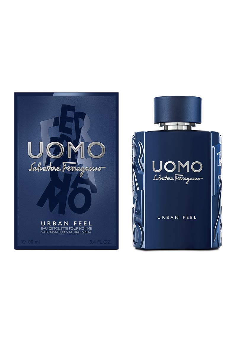 Salvatore Ferragamo Uomo Urban Fell Eau De Toilette For Men 100 ml