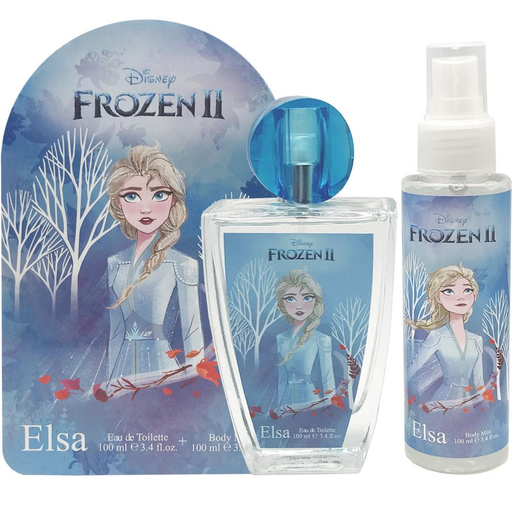 Disney Frozen II Elsa Set Eau De Toilette+Body Mist