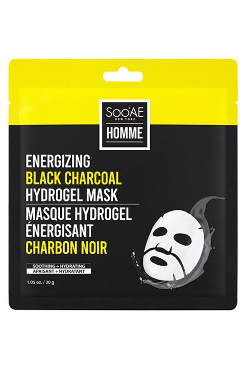 SOOAE Energizing Black Charcoal Hydrogel Mask 30 g
