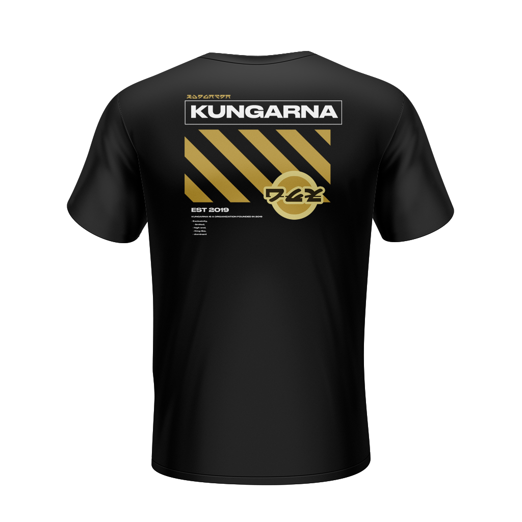 KNG CAUTION TEE 2020 (BLACK)