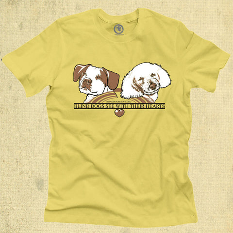 Blind Dogs See With Their Hearts - Adult - Lemon Zest