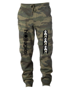 ho)))agies camo sweatpants