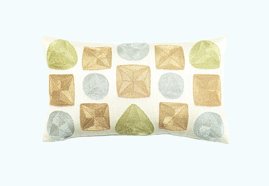 VEERO JOYA Pillow - Metallics