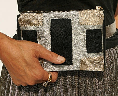 Block Belt Bag Black / Metallics