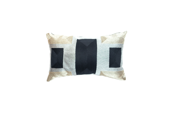 VEERO BLOCK MINI Gold / Silver / Black Pillow