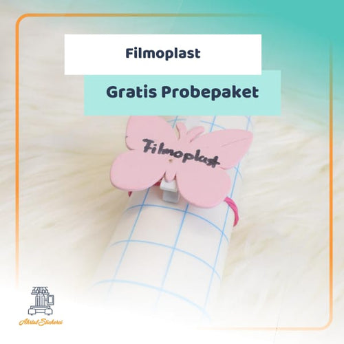 Gratis Probe Packet filmoplast stickvlies