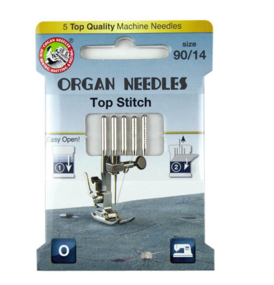 Nadeln Organ Needles Top Stitchnadel Metallicgarn
