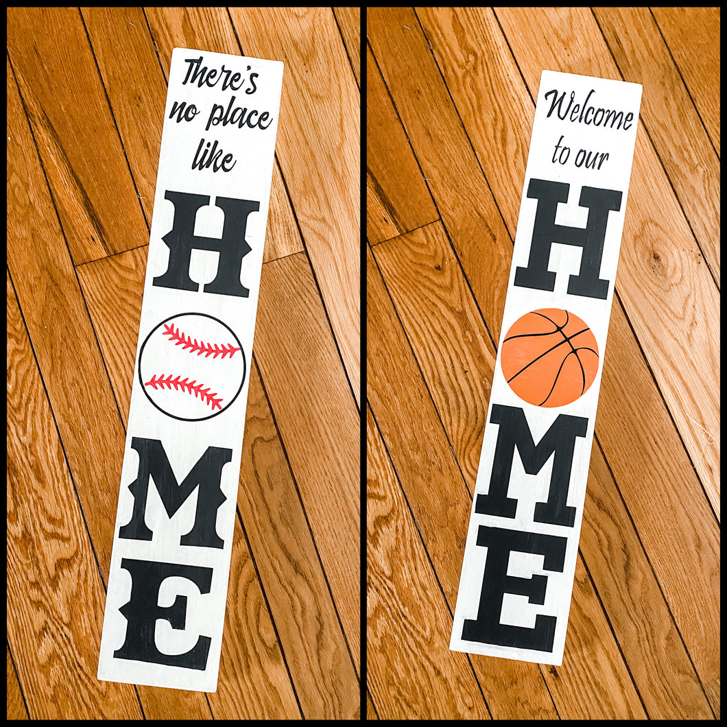 Double-Sided Sports Sign