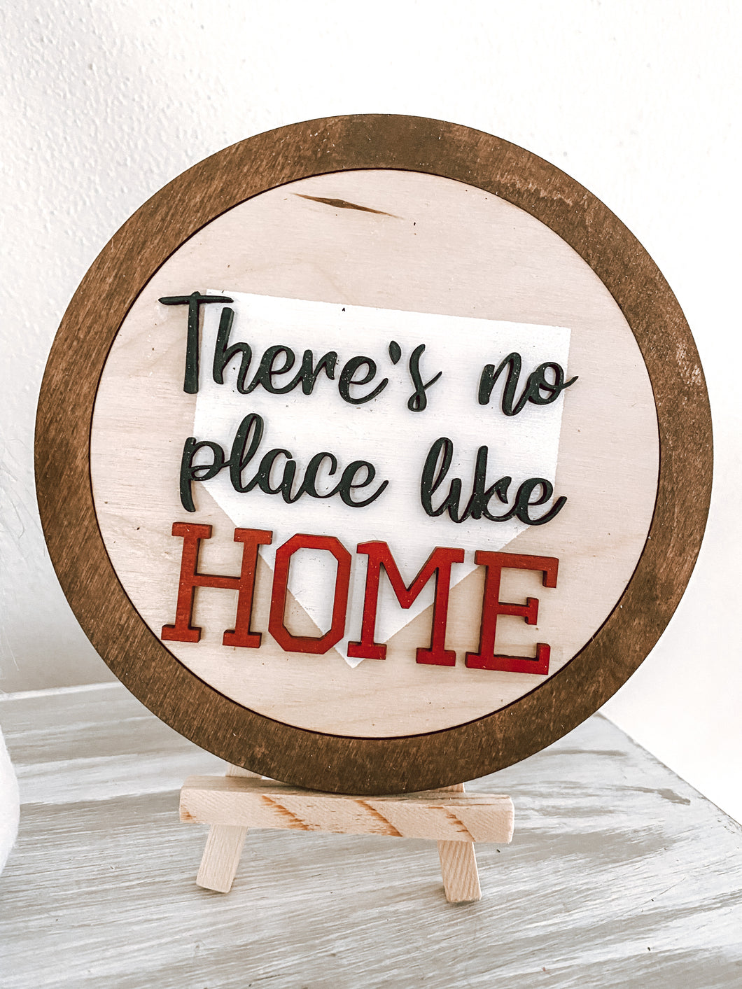 There's No Place Like Home Interchangeable Farmhouse Frame