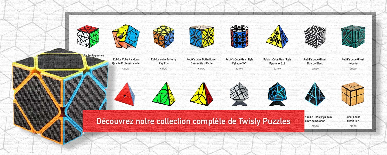Collection Rubik's cubes